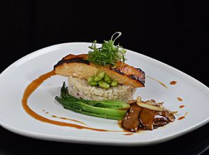 Japanise Miso Sea Bass with Butter Rice