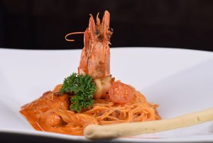 Shrim Creamy Spicy with angle hair